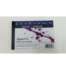 Bloco para Aguarela Aquafine 12fls GF 300grs A6 Daler-Rowney